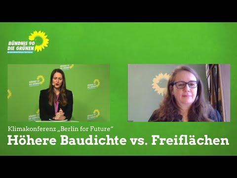 """""""Höhere Baudichte vs. Freiflächen"""" Workshop-Bericht auf der Klimakonferenz Berlin for Future"""